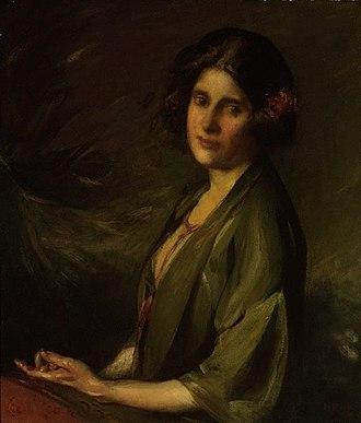 Inez Bensusan - Portrait, 1924 by Cecil William Rea