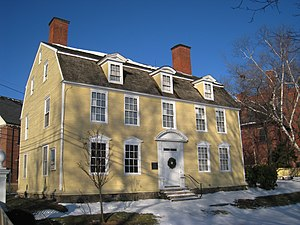 English: John Paul Jones House in Portsmouth, ...