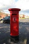 Post box at Curtis Road, Clubmoor.jpg