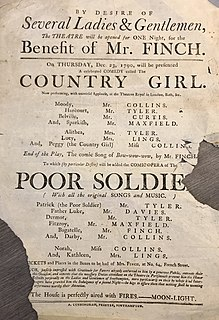 <i>The Country Girl</i> (1766 play) play