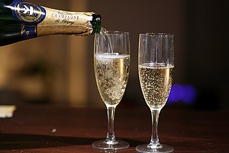 Champagne socialist - The reference to Champagne as a symbol of affluence is used to ridicule middle-class leftists