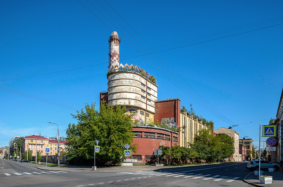Power Station of the Red Banner Textile Factory SPB