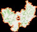 Powiat łomżyński location map.png