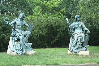Statues of Trade and Industry in Lužánky Park