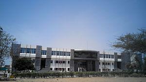 Malaviya National Institute of Technology, Jaipur - Prabha Bhawan - Main Building