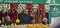 Pranab Mukherjee addressing at the inauguration of 125th Year Celebration of Uttar Pradesh Legislative Assembly, in Lucknow. The Governor of Uttar Pradesh.jpg