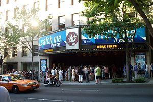 Catch Me If You Can (musical) - Catch Me If You Can at the 5th Avenue Theatre in Seattle, Washington.