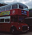 Preserved Routemaster RM2116 (CUV 116C), Chatham dockyard, August 1998.jpg