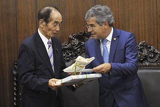 Azuma Koshiishi Japanese politician