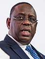 President Macky Sall of Senegal, speaking at the UK-Africa Investment Summit in London, 20 January 2020 (cropped).jpg