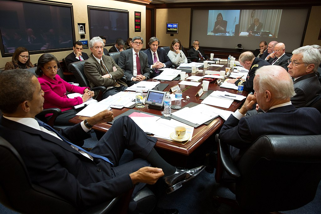 President Obama convenes a National Security Council March 2014
