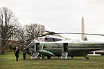President Trump Departs the South Lawn (47442125551).jpg
