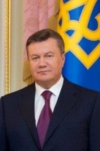 President V Yanukovych
