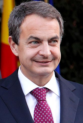 Prime Minister of Spain - Image: Presidente José Luis Rodriguez Zapatero La Moncloa 2011