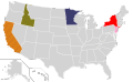 Presidential Candidate Home State Locator Map, 1984 (United States of America).png