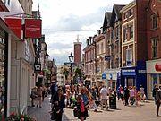 Pride Hill, Shrewsbury