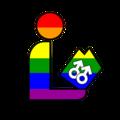 Pride Homosexual Rainbow Library Logo.png