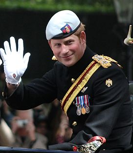 Prince Harry Trooping the Colour cropped.JPG