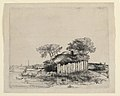 Print, Cottage with a white paling, 1642 (CH 18418369).jpg