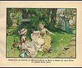 Prinzessin Luise und Friederike als Kinder im Schatten alter Bäume auf Schloß Broich.jpg