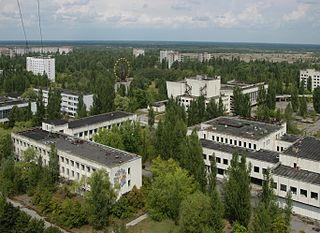 City of regional significance in Kiev Oblast, Ukraine