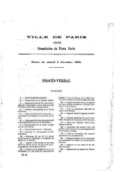 fichier proc s verbal de la commission municipale du vieux paris 1905 wikisource. Black Bedroom Furniture Sets. Home Design Ideas