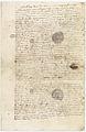 "Procès verbal d'examen du corps de la ""bête du Gevaudan"" 1 - Archives Nationales - AE-II-2927.jpg"