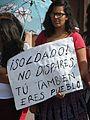 Protesta en favor de los profesores de Oaxaca, en la plaza principal de Aguascalientes (junio, 2016) 30.jpg