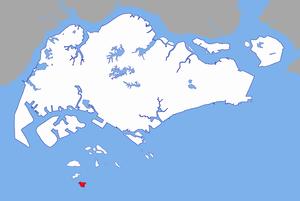 Pulau Senang - Image: Pulau Senang locator map