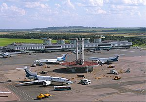 Aerodrome - Pulkovo Airport, near Saint Petersburg, Russia