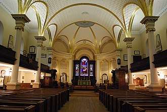 1804 in architecture - Cathedral of the Holy Trinity (Quebec)