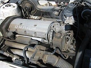 Quad 4 engine Motor vehicle engine