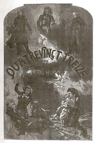 Ninety-Three - Image: Quatre Vingt Treize Victor Hugo