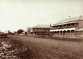 Queensland State Archives 2334 Herbert Street with Royal and Commercial hotels Allora 1897.png