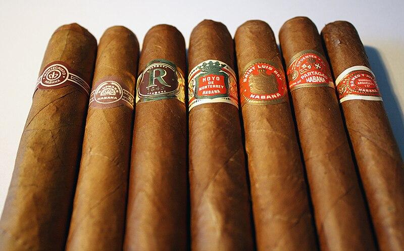 Fabrication du cigare cubain