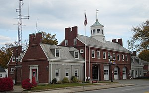 Central Fire Station (Quincy, Massachusetts) - Image: Quincy MA Central Fire Station