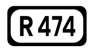 R460 road (Ireland) - Image: R474 Regional Route Shield Ireland