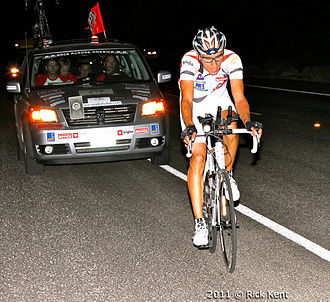 Race Across America - Participants expect to ride around the clock. The leaders will average 1.5 hours sleep per day