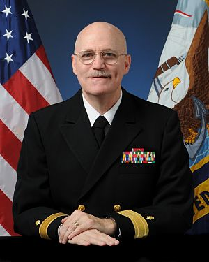 Medical Education and Training Campus - Founding Commandant Rear Admiral Kiser USN, (RET)