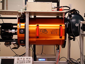 Center for Detectors - The Center's detector testing system uses custom-built cylindrical vacuum cryogenic dewars.