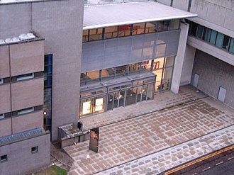 Royal Northern College of Music - Royal Northern College of Music, Booth Street West entrance