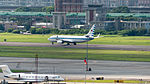 ROCAF Boeing 737-800 3701 Taking off from Songshan Air Force Base 20150629.jpg