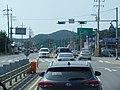 ROK National Route 48 Seongdong Intersection 500m Ahead(Westward Dir).jpg