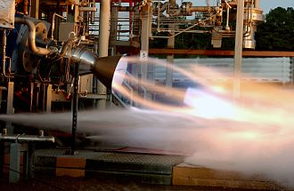 Boeing CST-100 Starliner - Image: RS 88 test firing