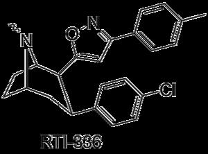 Phenyltropane - Image: RTI336