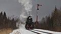 RZD L-5289 steam locomotive. Torzok-Soblago line, Rancevo (26001749975).jpg