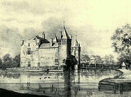 Slot Valckesteyn in 1650 door R. Rogman