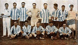 Racing Club de Avellaneda - The 1913 team that won four titles in a year, including its first Primera División championship