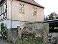 Radebeul Winzerhaus Bischofsweg 30 Hochwasserschild.jpg
