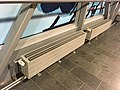 Radiators in airport passage (27180571657).jpg